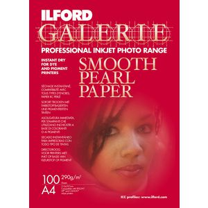 Ilford Galerie Smooth Pearl Photo Paper A4 100 Pack