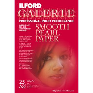Ilford Galerie Smooth Pearl Photo Paper A3+ 25 Pack