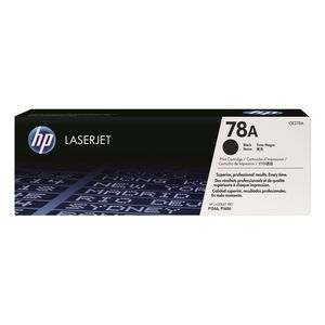 HP 78A CE278A LaserJet Toner Cartridge Black