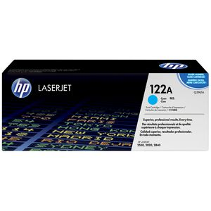 HP 122A LaserJet Toner Cartridge Cyan Q3961A