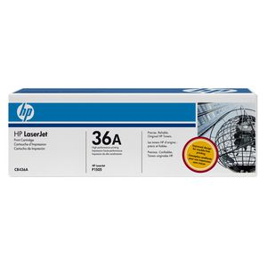 HP 36A LaserJet Toner Cartridge Black CB436A