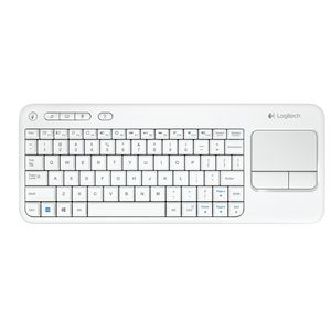 Logitech Wireless Keyboard K400 White