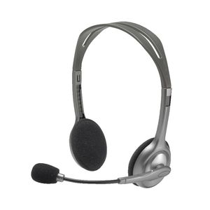 Logitech H110 On-Ear Headset Silver