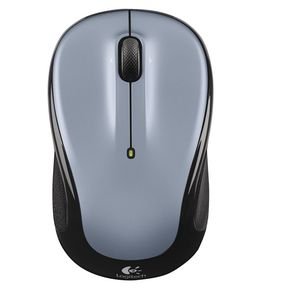 Logitech M325 Wireless Mouse Silver and Black