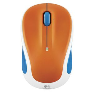 Logitech M325 Wireless Mouse Orange