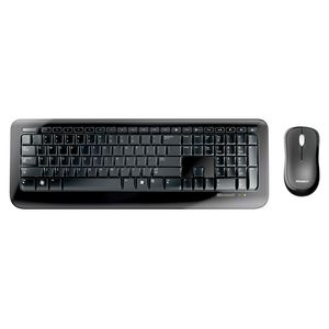 Microsoft Desktop 800 Wireless Keyboard and Mouse Set Black
