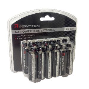 InSystem AA Batteries 20 Pack