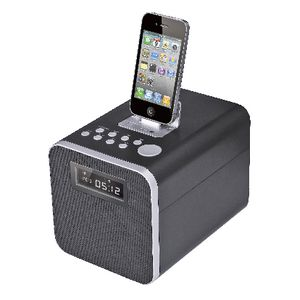 InSystem Lightning Speaker Dock Black