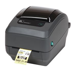Zebra GK420 Thermal Transfer 203DPI Serial/USB/Ethernet Printer