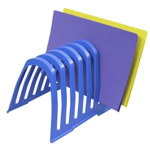 Italplast Step File Organiser Blueberry