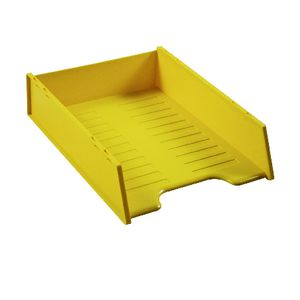Italplast A4 Document Tray Banana Yellow