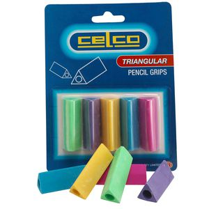 Celco Triangular Pencil Grips 5 Pack
