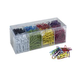 J.Burrows 33mm Paper Clips Matte 800 Pack