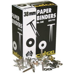 Celco 38mm Paper Binders Bx/200