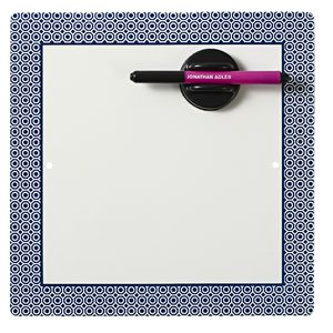 Jonathan Adler Magnetic Whiteboard Blue
