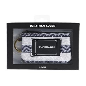 Jonathan Adler Coin Purse with ID Window Black