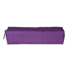 Jonathan Adler Tube Pencil Case Greek Key Pink