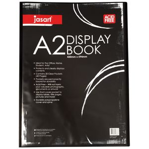 Jasart A2 Display Book