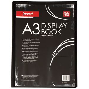 Jasart A3 Display Book