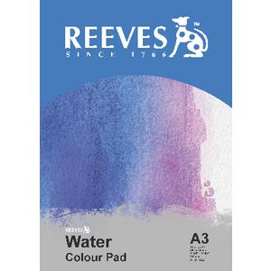 Reeves A3 Water Colour Pad 12 Sheets