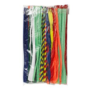 Jasart 30cm Chenille Pipe Cleaners Assorted 200 Pack