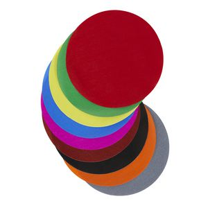 Jasart Paper Circles 180mm Gloss Assorted 500 Pack
