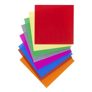 Jasart Paper Squares 127mm Gloss Assorted 360 Pack