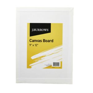 J.Burrows Canvas Board 9 x 12IN