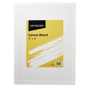 J.Burrows Canvas Board 12 x 16IN