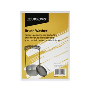 J.Burrows Metal Brush Washer