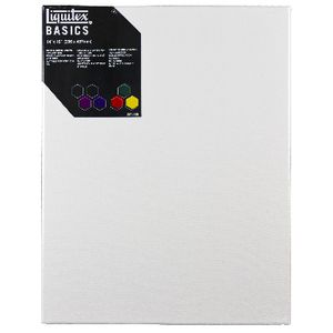 Liquitex Basics Thin Edge Stretched Canvas 18