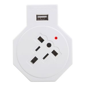 Jackson Inbound Surge Protected USB Multi-pin Travel Adaptor