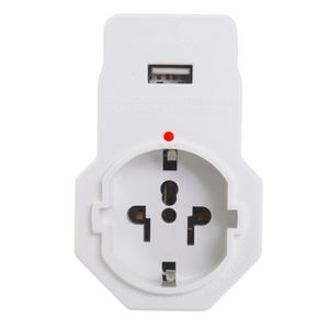 Jackson Surge Protected Travel Adaptor Inbound + USB Charging Outlet