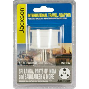 Jackson Outbound India & Sri Lanka Travel Adaptor