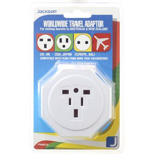 Jackson Inbound Travel Adaptor with Surge Protection