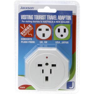 Jackson Inbound Surge Protected Multi-pin Travel Adaptor