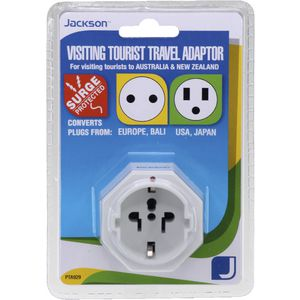 Jackson Inbound USA/Asia Surge Protected Travel Adaptor