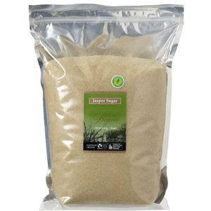 Jasper Fairtrade Organic Raw Sugar 4kg