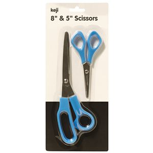 Keji Home and Office Scissor 2 Pack