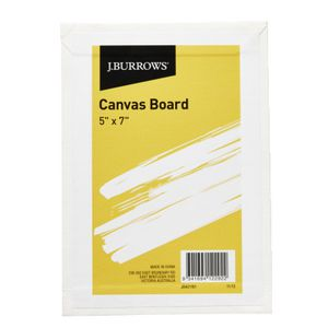 J.Burrows Canvas Board 5 x 7""
