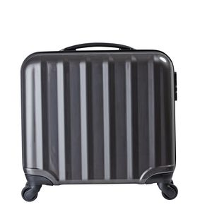 J Burrows 45cm Hardcase Laptop Trolley Case Black