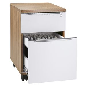 Aero 2 Drawer Pedestal