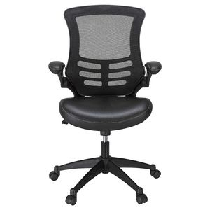Baku Executive Medium Back Chair Black