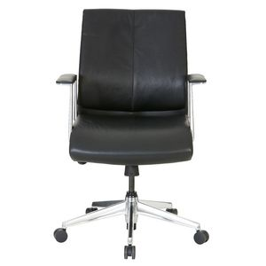 Berkley Medium Back Chair Black