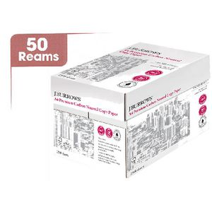 J.Burrows 80gsm A4 Carbon Neutral Copy Paper Half Pallet