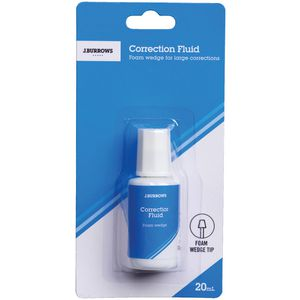 J.Burrows Correction Fluid 20mL