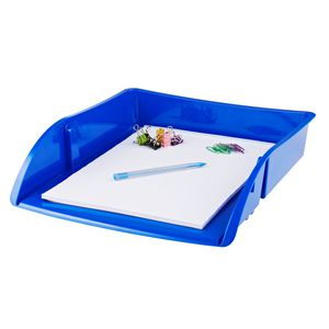 J.Burrows Document Tray Blue