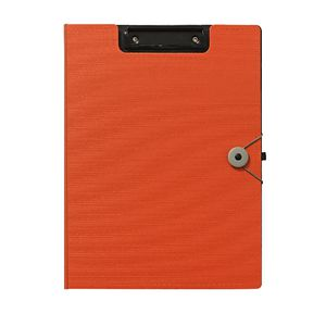 J.Burrows Foam Clipfolder A4 Orange