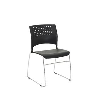 Gamma Visitor Chair Black