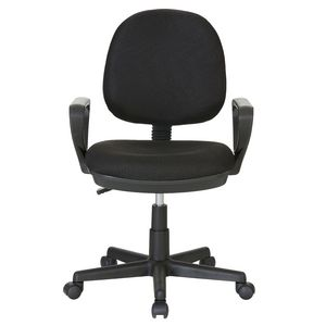 Levo Medium Back Chair Black